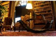 Tyntesfield to posiadłość należąca do organizacji National Trust w Wielkiej Brytanii - Biblioteka