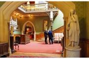 Tyntesfield to posiadłość należąca do organizacji National Trust w Wielkiej Brytanii - Wnętrze domu