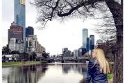 Australia - Melbourne miasto pełne jest parków i innych atrakcji