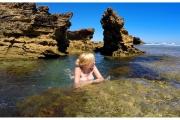 Australia - Melbourne kąpiel w ciepłych wodach otaczających Australię - wspaniała przygoda