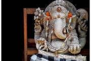 Ubud na Bali to miasto pełne magii, duchów i demonów. Balijski bóg pod postacią słonia.