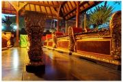 Ubud na Bali to miasto pełne magii, duchów i demonów. Organizowane są pokazy tańca i muzyki.