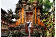 Świątynie na Bali są bardzo bogato zdobione. Piotr Kiżewski.