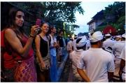 Bali Ubud procesja z okazji któregoś ze świąt.