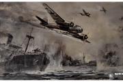 Atrakcja turystyczna Dar Pomorza oraz wycieczka do Muzeum Marynarki Wojennej w Gdyni. Bitwa morska i walka samolotów.