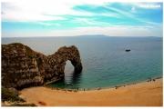 Anglia-Durdle-Door-plaża-wybrzeże-jurajskie-skały_4