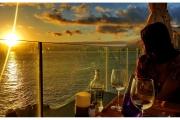 Wyspy Kanaryjskie - Teneryfa i La Gomera. Zachód słońca.