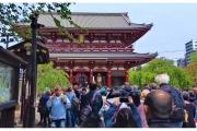 Świątynia w Tokio - Japonia