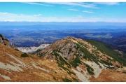 Kasprowy Wierch - szczyt w Tatrach na granicy Polsko-Słowackiej. Znana atrakcja turystyczna Polskich gór.