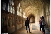 Katedra w Gloucester - Atrakcje zachodniej Anglii. Słynne krużganki znane z filmów z Harrym Potterem. Magdalena Kiżewska