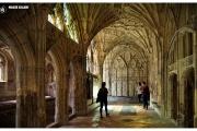 Katedra w Gloucester - Atrakcje zachodniej Anglii. Słynne krużganki znane z filmów z Harrym Potterem. Magdalena Kiżewska,