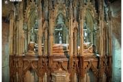 Katedra w Gloucester - Atrakcje zachodniej Anglii. Wnętrze kościoła i grobem Roberta Krótkoudego