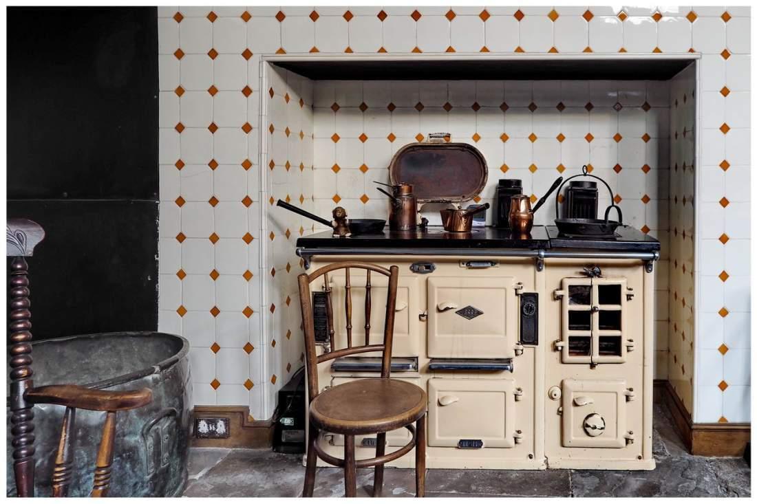 Kuchnia w wiktoriańskiej Angli. Kuchnia.