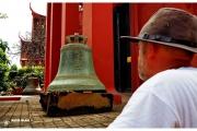 Stolica Kambodży - Phnom Penh.  Muzeum Narodowe  - rzeźby i eksponaty. Piotr Kiżewski.