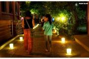 Stolica Kambodży - Phnom Penh.  Ulice miasta nocą. Magdalena Kiżewska spaceruje w okolicach muzeum narodowego