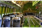 Muzeum-Techniki-w-Speyer-Sinsheim-Niemcy-atrakcje-samolot-wnętrze