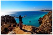 Wybrzeże Lagos w południowej części Portugalii. Blog podróżniczy Nasze Szlaki. Magdalena Kiżewska. Blog podróżniczy Nasze Szlaki.