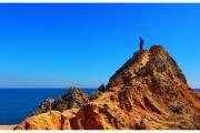 Wybrzeże Lagos w południowej części Portugalii. Blog podróżniczy Nasze Szlaki. Piotr Kiżewski. Blog podróżniczy Nasze Szlaki.