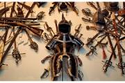 Zamek Peles na Wołoszczyźnie w Rumunii to wielka atrakcja turystyczna. Pełno tam dawnej broni i innych eksponatów.