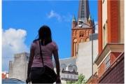Szczecin miasto na granicy z Niemcami