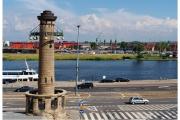 Szczecin - Wały Chrobrego - Widok na Zachodnią Odrę