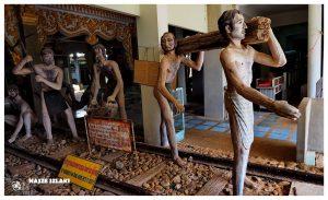 Muzeum kolei śmierci, Kanchanaburi w Tajlandii