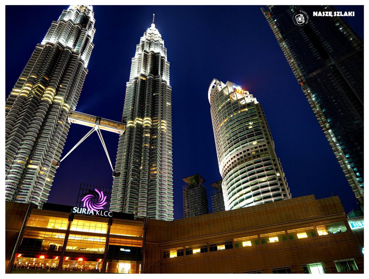 Kuala-Lumpur-KL-Petronas-Towers-Malezja-Azja-co-zobaczyć-atrakcja-cena-zwiedzanie-wieczór-światła miasta